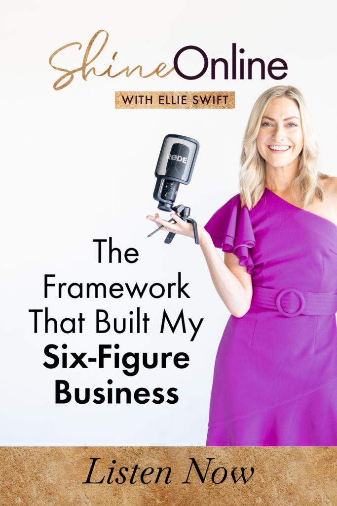 The Framework That Built My 6 Figure Business